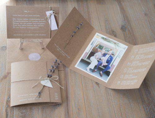 Wedding Stationery Kraft